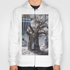 Home tree up in the clouds Hoody