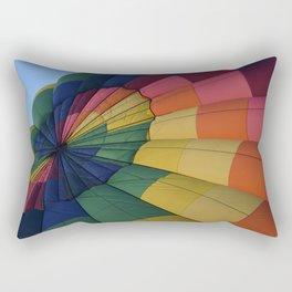 Hot Air Balloon Festival - I Rectangular Pillow