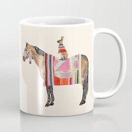 Horse with hare  Coffee Mug
