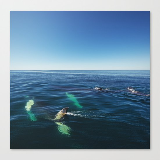 Rolling in the Deep Canvas Print
