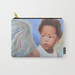 Sweet Brown Angel Carry-All Pouch