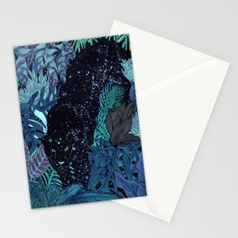 The Jungle at Night Colour Version Stationery Cards