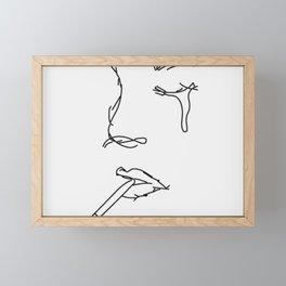 you're such a drag Framed Mini Art Print