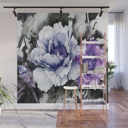 FLOWER PAINTING1 Wall Mural