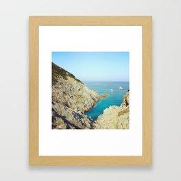Gorge Du Loup Framed Art Print