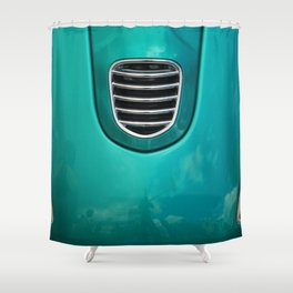 Old Car Detail Shower Curtain