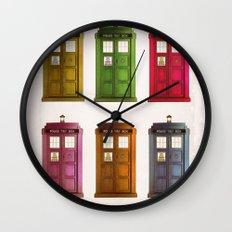 Pop Tardi Wall Clock