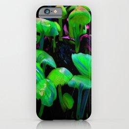 Northwoods Shrooms 887 iPhone Case