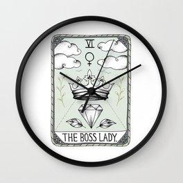 The Boss Lady Wall Clock