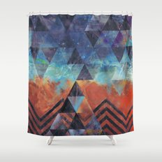 Astral-Projectionist Shower Curtain
