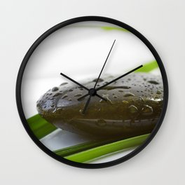Silence Stone for relaxing Wall Clock