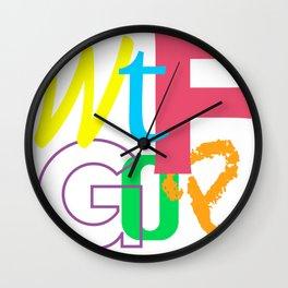 WTF GOP Wall Clock