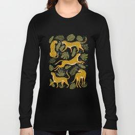 Leopard pattern Long Sleeve T-shirt