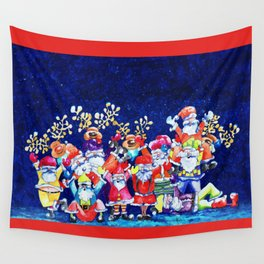 Funny Christmas Wall Tapestry