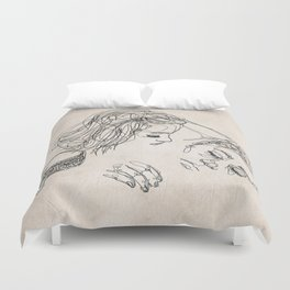 Good morning, I love you. Duvet Cover