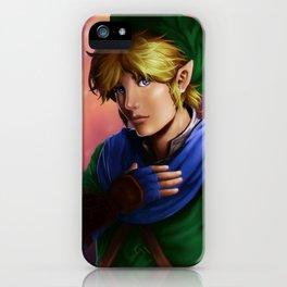 Hyrule Warriors Link iPhone Case