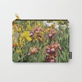 Iris Flowers Carry-All Pouch