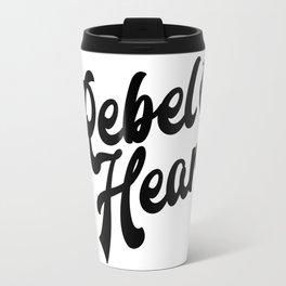 Rebel Heart Human Heart A354 Travel Mug