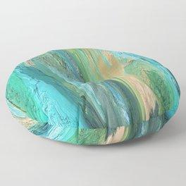 436 - Abstract Colour Design Floor Pillow