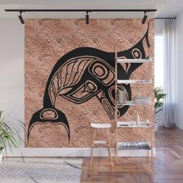 Ink Keét Copper Wall Mural