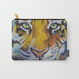 Tiger Psy Trance Carry-All Pouch