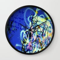 poem Wall Clocks featuring POEM by soem2014