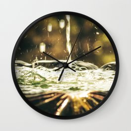 Fount Wall Clock