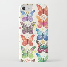 Colorful Butterflies iPhone 7 Slim Case