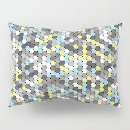 Silver mosaic Pillow Sham