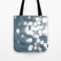 sparkles Tote Bags featuring Sparkles by Lady Tanya bleudragon