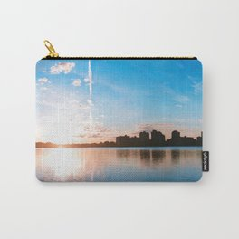 Aurora Blue Carry-All Pouch