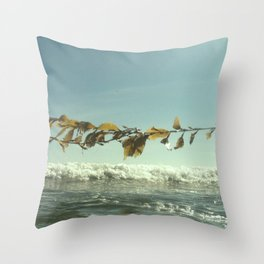 Kelp me Rhonda Throw Pillow