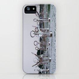 Flock 03 iPhone Case