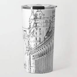 Pont de Bir-Hakeim - Paris, France Travel Mug