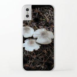 Beautiful Mushrooms Clear iPhone Case