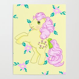 g1 my little pony Posey Poster