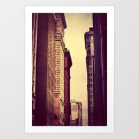 inception Art Prints featuring Inception by Caleb Troy