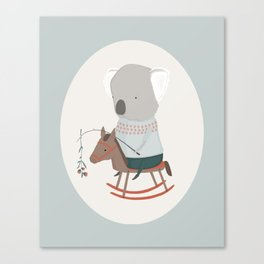 Pip and His Pony Canvas Print