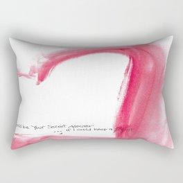 Secret Admirer Rectangular Pillow