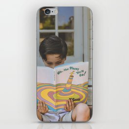 Places you'll go iPhone Skin