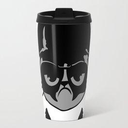 Darth Vader Grumpy Face Travel Mug