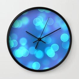 Bokeh I Wall Clock