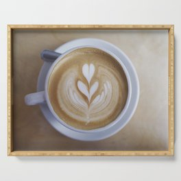 Delicious Latte Serving Tray