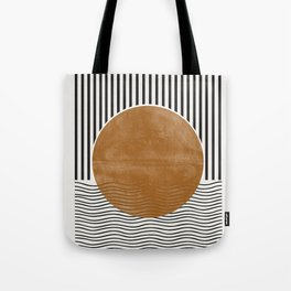 Abstract Modern Poster Tote Bag