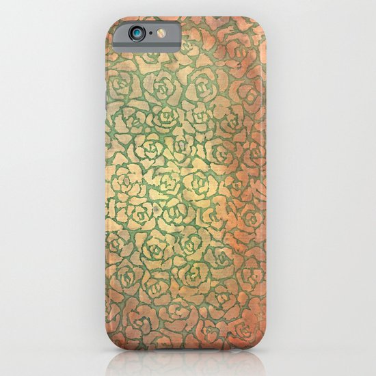 roses pattern iPhone & iPod Case
