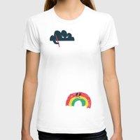 rain T-shirts featuring Rain Rain Go Away by Picomodi