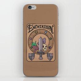 Enchiridion iPhone Skin