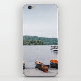 view of the lake in Windermere iPhone Skin