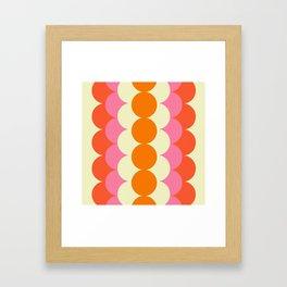 Gradual Sixties Framed Art Print