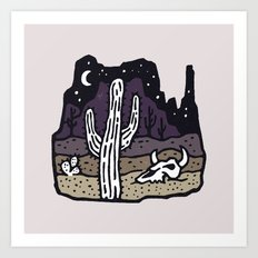 Arizona Art Print